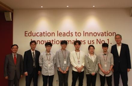 SES프로그램 참여 학생 격려방문